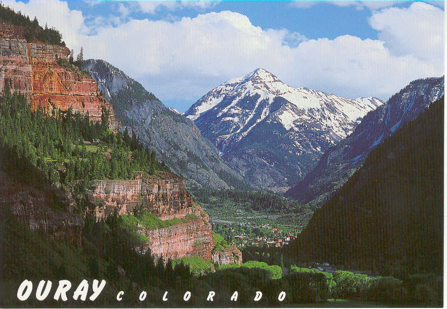 General ouray area